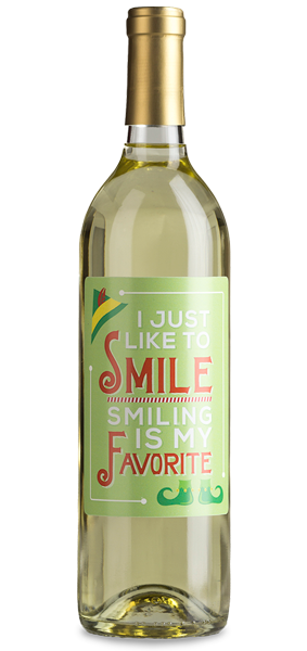customized wine label