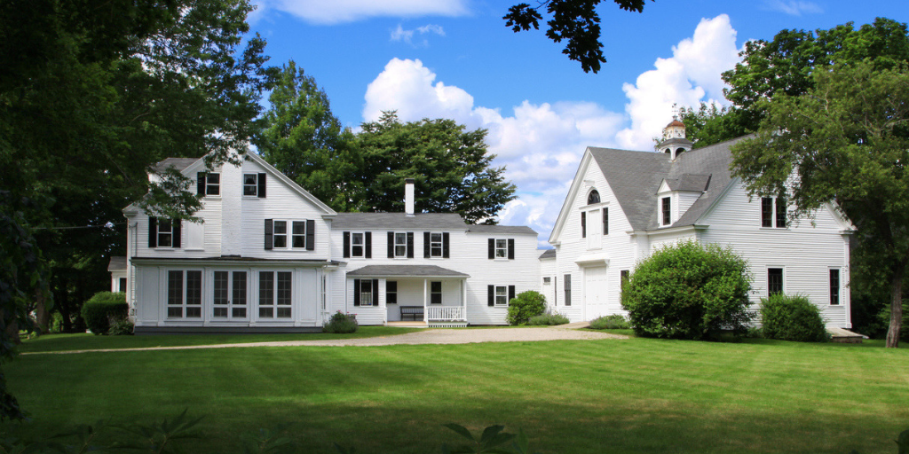 colonial luxury home