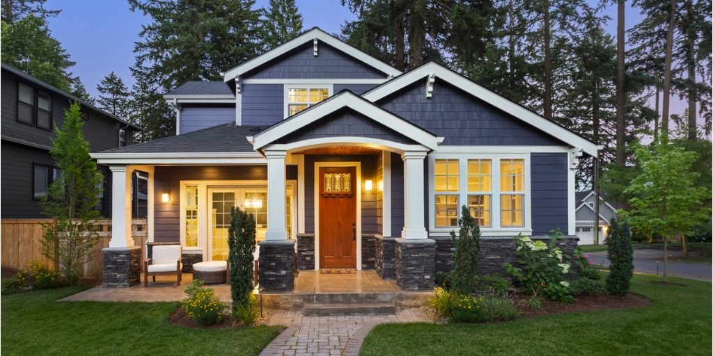 craftsman luxury home