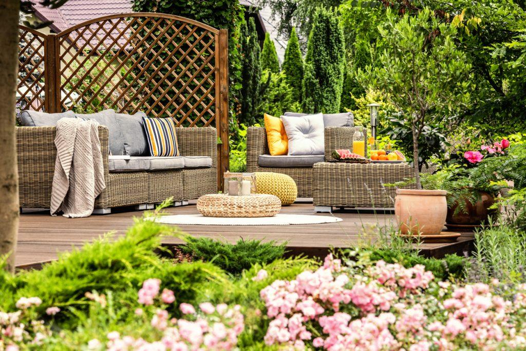 tranquility garden luxury