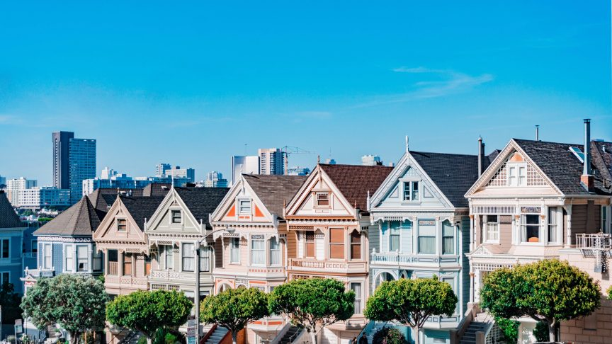 real estate success through selling a network of houses in SF