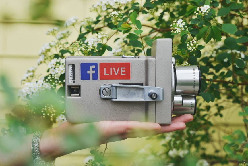 Using Facebook Live to show luxury listings